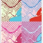 Warhol Diptych Series, Santa Barbara